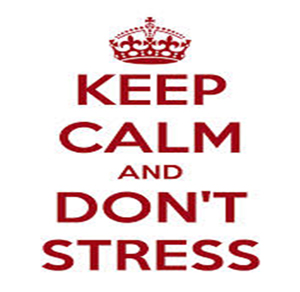 ceep calm dont stress