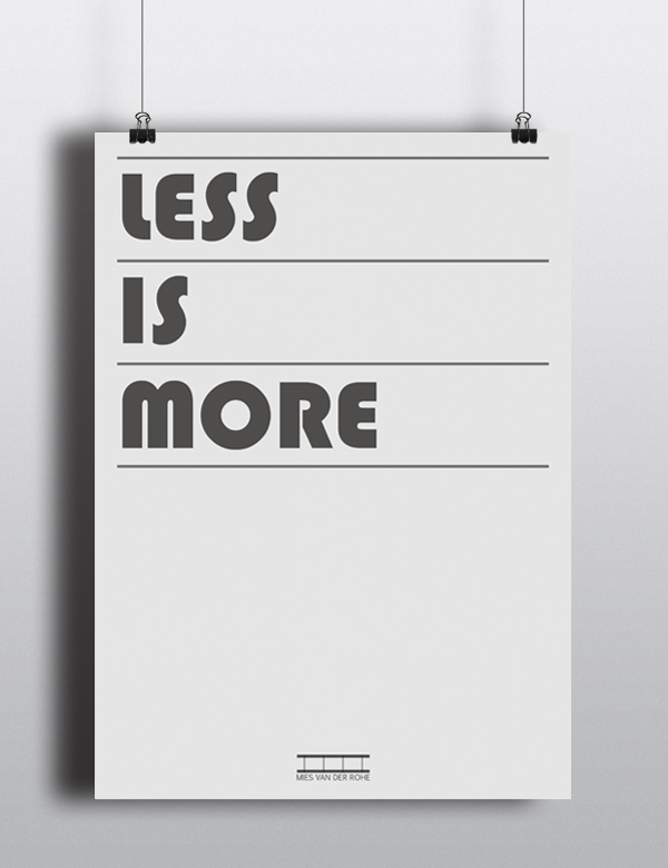 lees is more