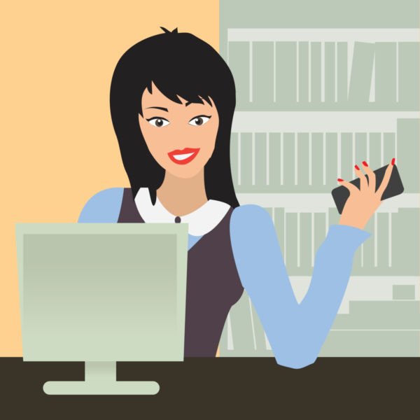 photo4design.com-24187-office-woman-vector